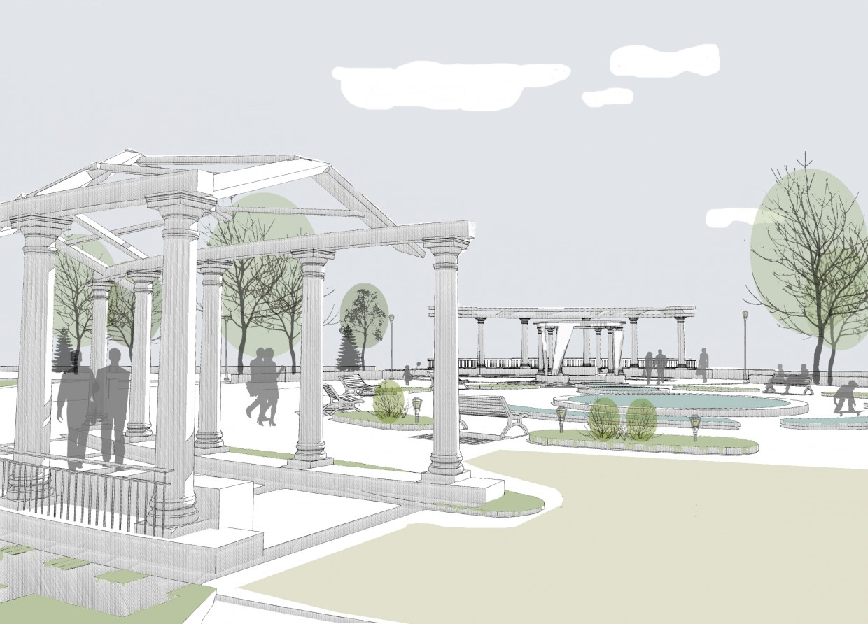 Reconstruction of boulevard in ArchiCAD Other image