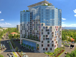Житловий комплекс (варіант фасаду)