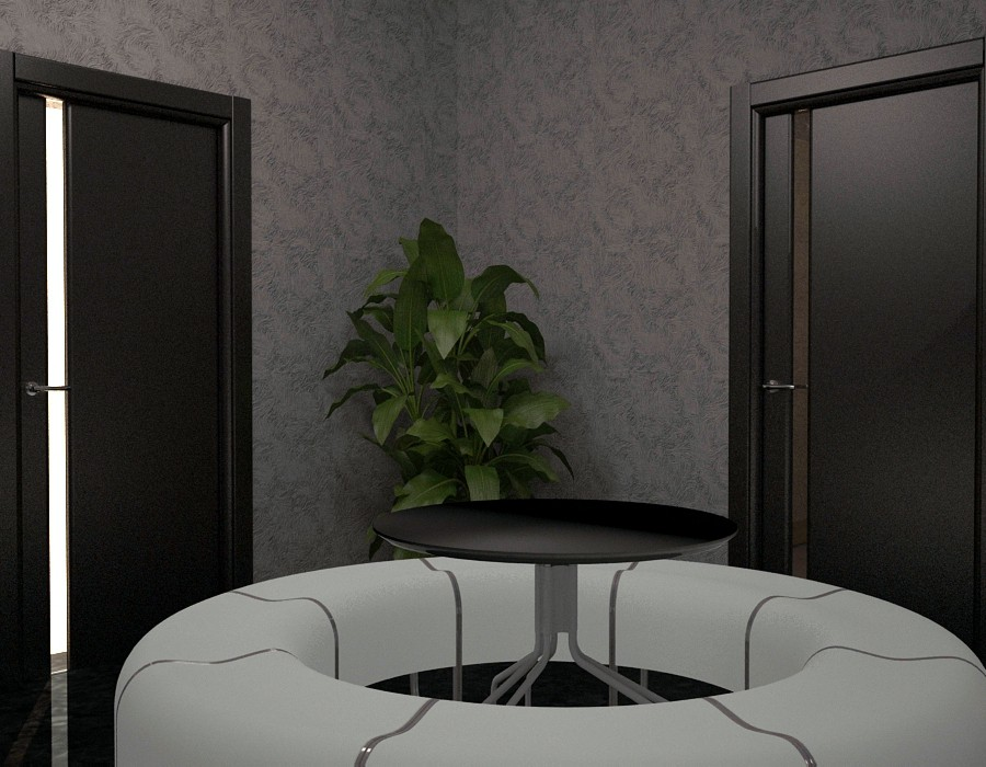 training Pavilion in 3d max vray image