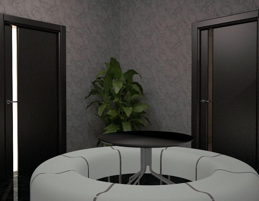 Учебный павильон в 3d max vray изображение