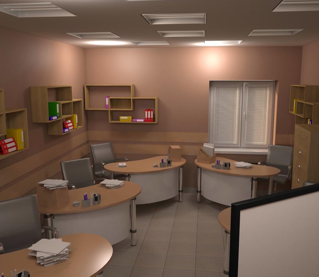 навчальний павільйон в 3d max vray зображення