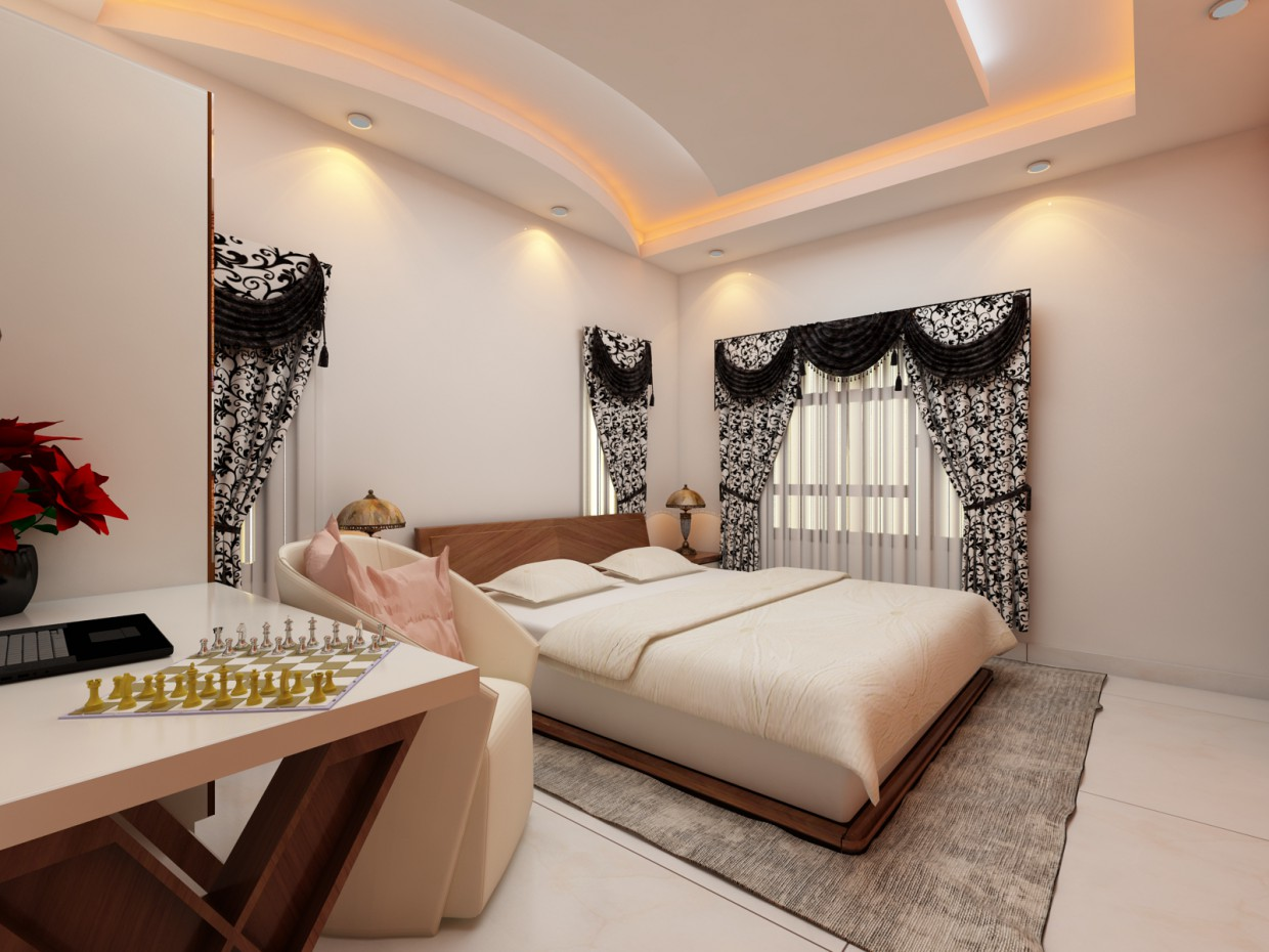 Bedroom from HariRahul in 3d max vray 3.0 image