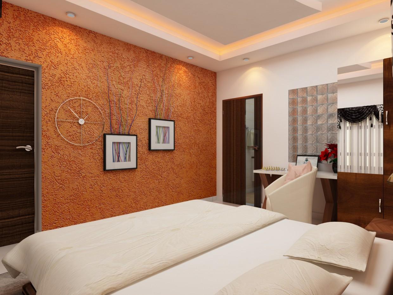 Спальня от HariRahul в 3d max vray 3.0 изображение