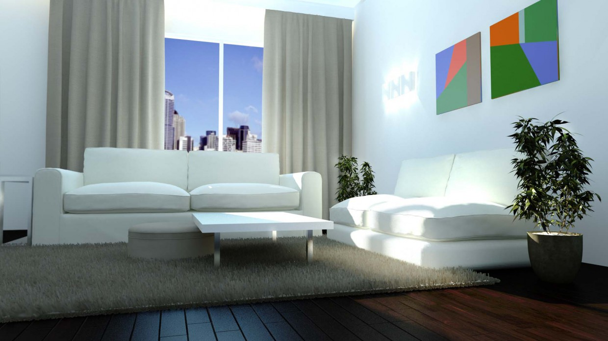 Hall in 3d max vray immagine