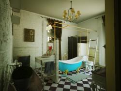 Ванная комната в стиле прованса