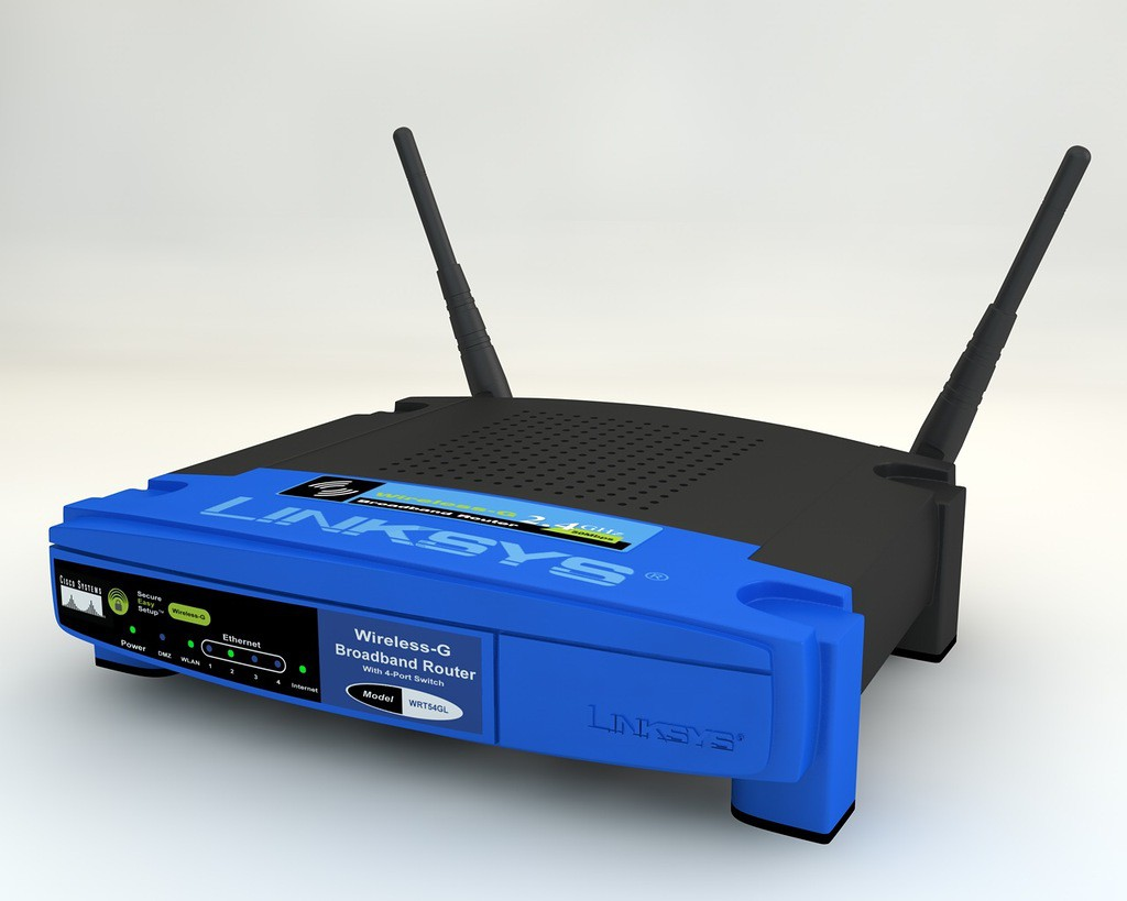 Wi-Fi router  in  Cinema 4d   Other  image