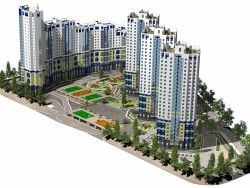 "Complejo residencial ""Flagman"""