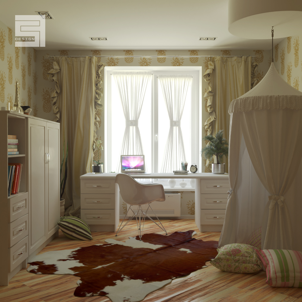 room for a girl / room for a girl in 3d max corona render image