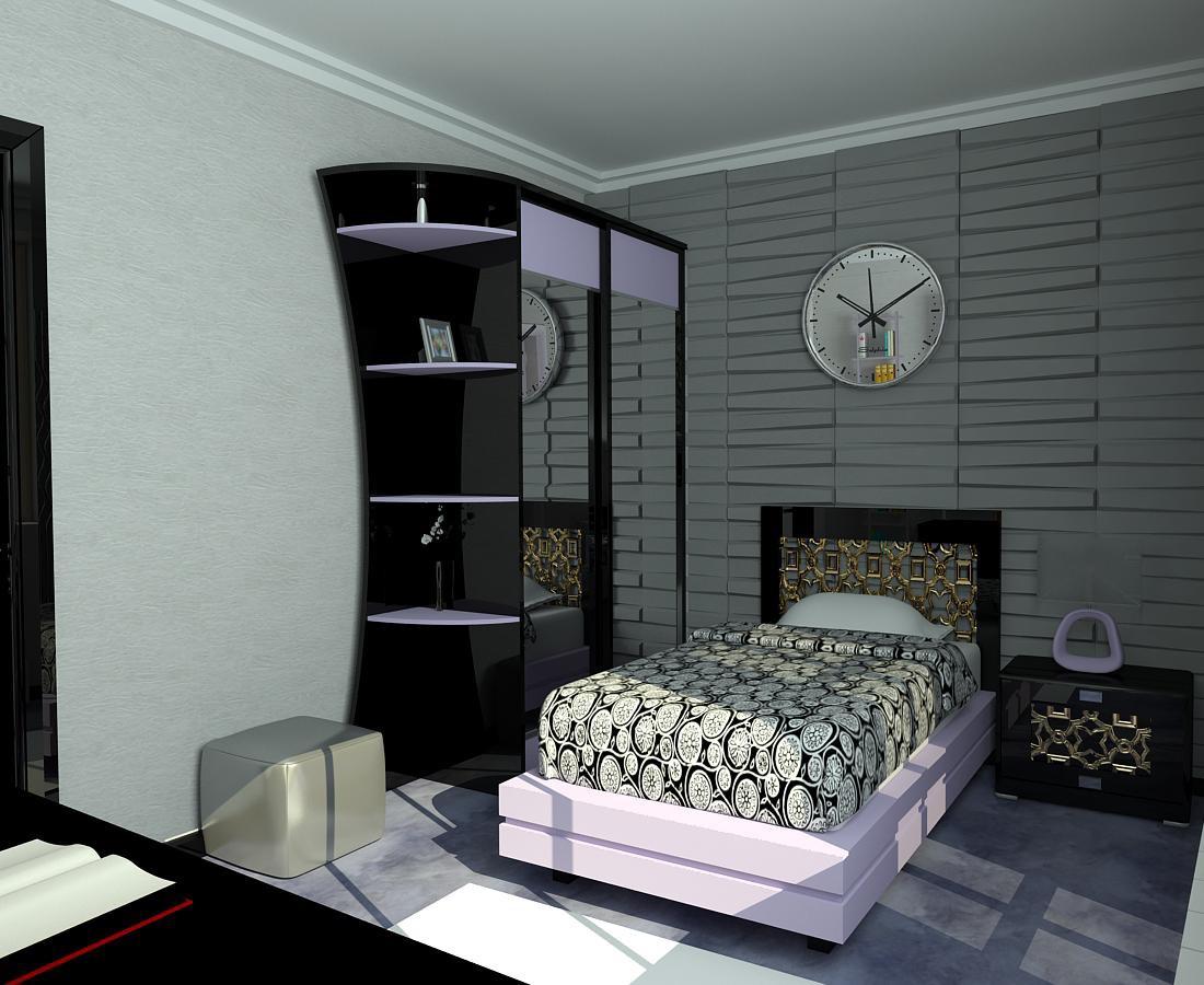 Жилая комната в 3d max vray изображение