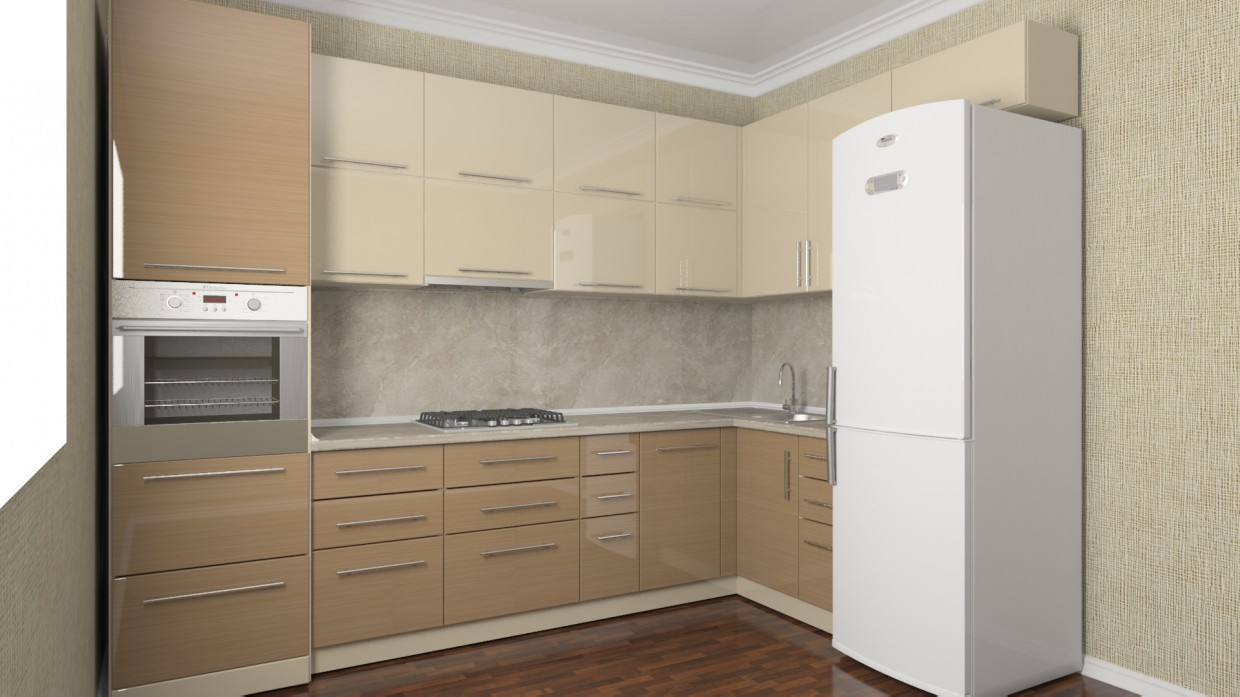 Kitchen 2 in 3d max vray 2.5 image