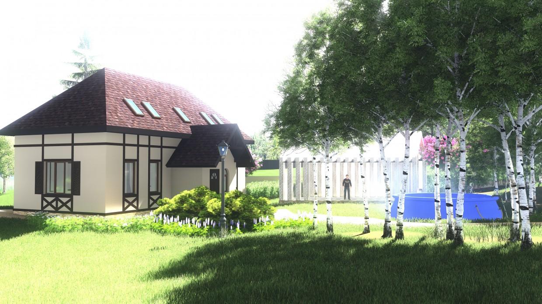 Видео презентация ландшафтного дизайна. в ArchiCAD Other изображение