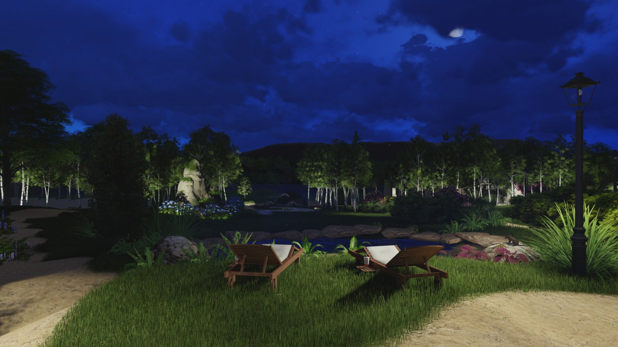 Video presentation of the landscape design. in ArchiCAD Other image