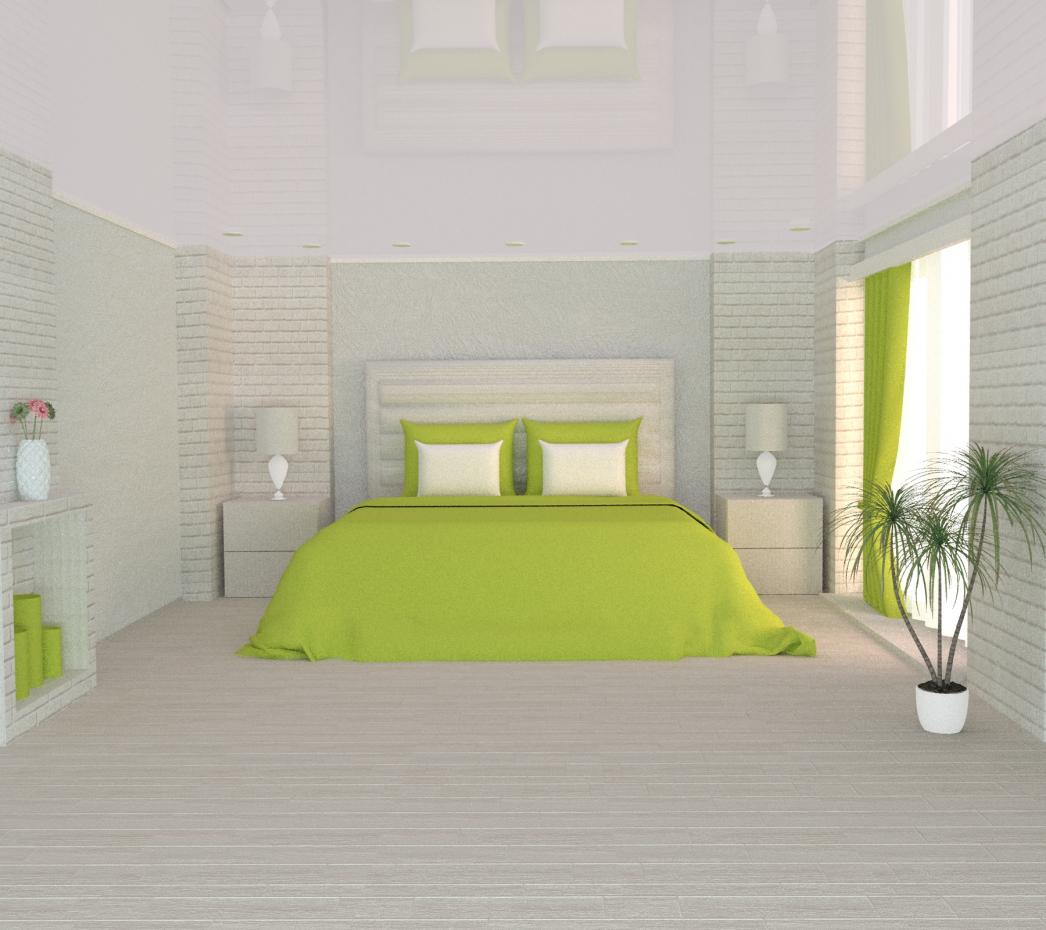Bedroom design in 3d max vray 3.0 image