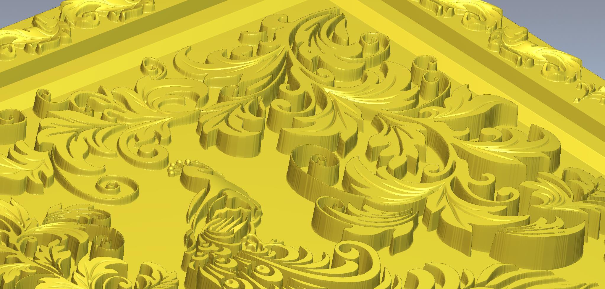मोर 3d max vray 3.0 में प्रस्तुत छवि