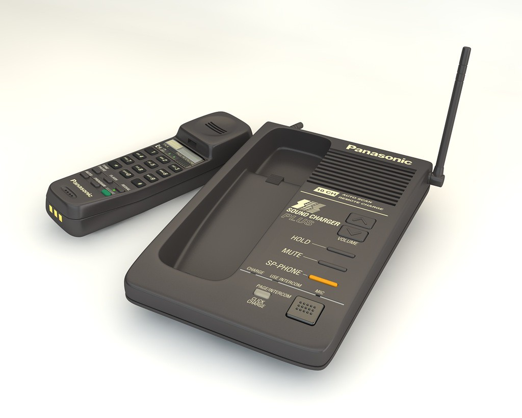 Panasonic-Funktelefon in Cinema 4d Other Bild