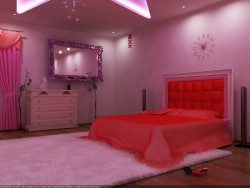 Göz alıcı yatak odası