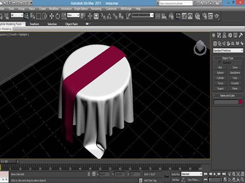 imagen de Paño de mesa y sillas en 3d max Other