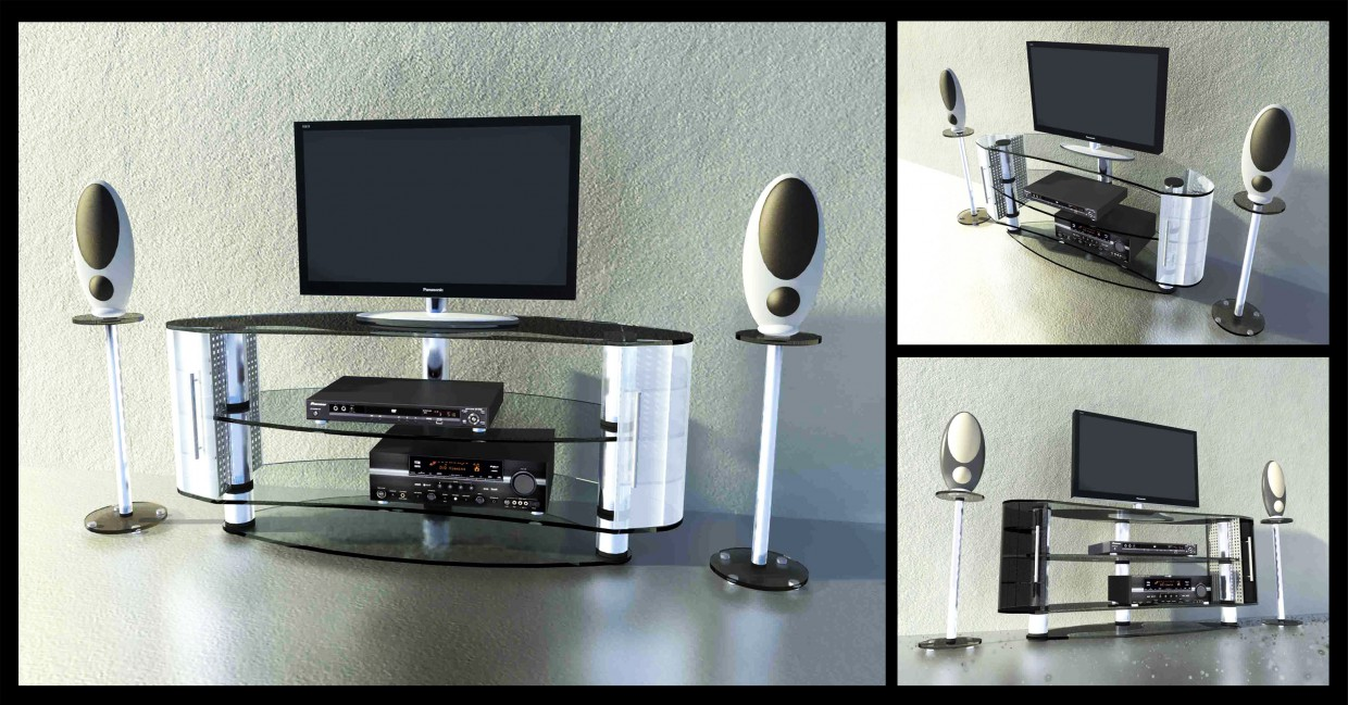 Stand for TV in Other thing maxwell render image