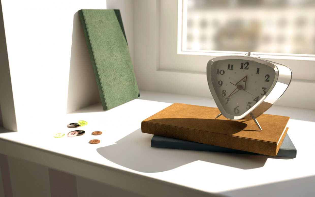 Time in 3d max vray image
