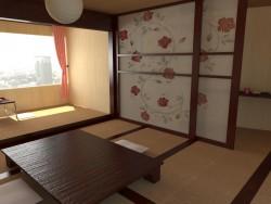 Interior, de estilo japonés