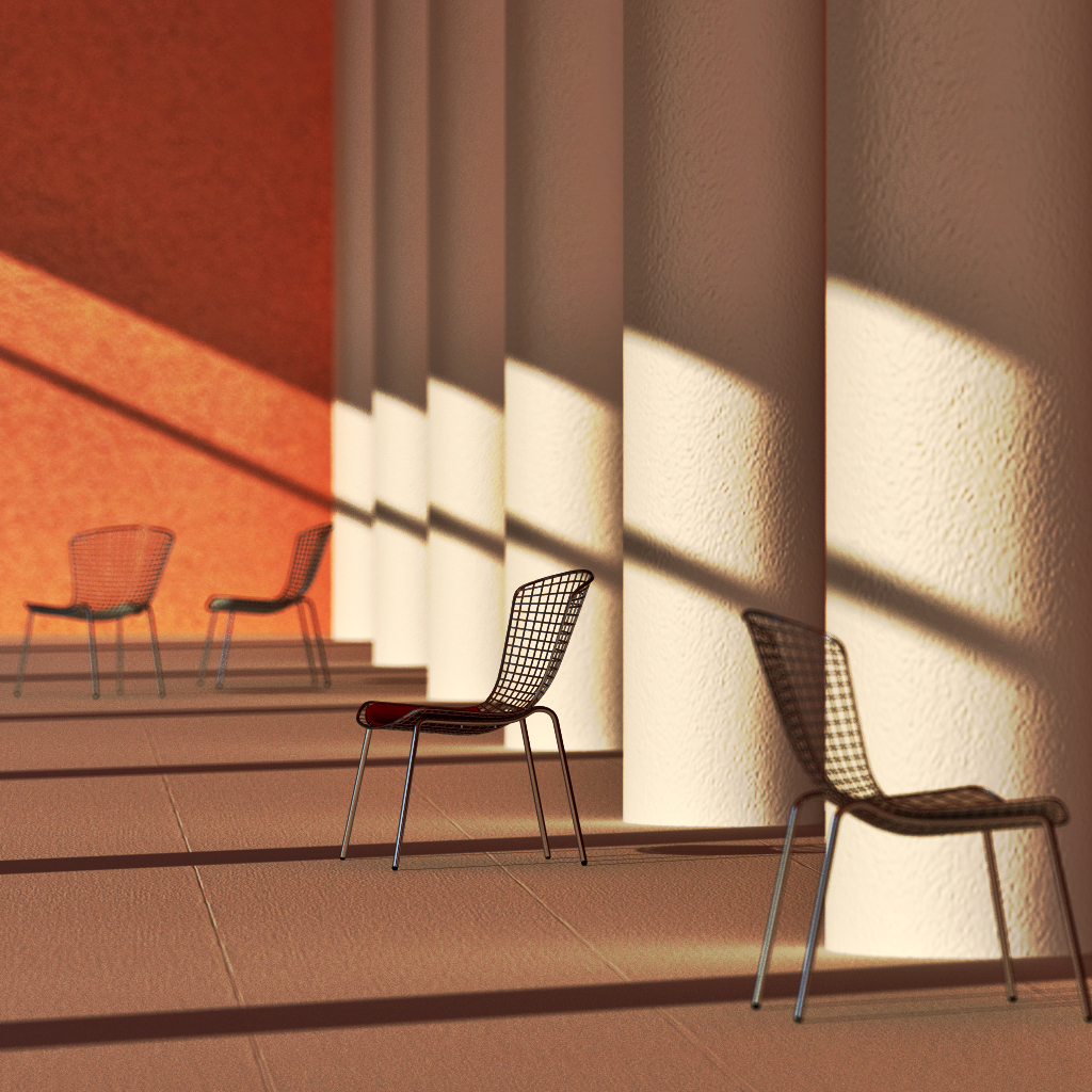 Tiny Portfolio in Cinema 4d vray 2.0 image