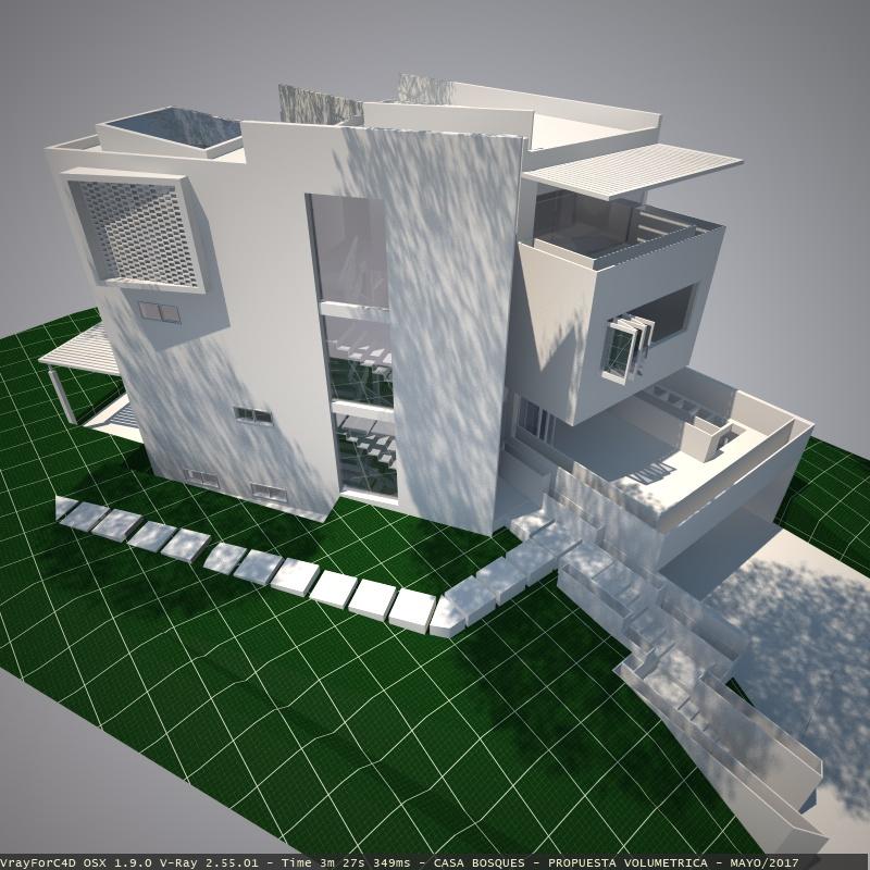 छोटे पोर्टफोलियो Cinema 4d vray 2.0 में प्रस्तुत छवि
