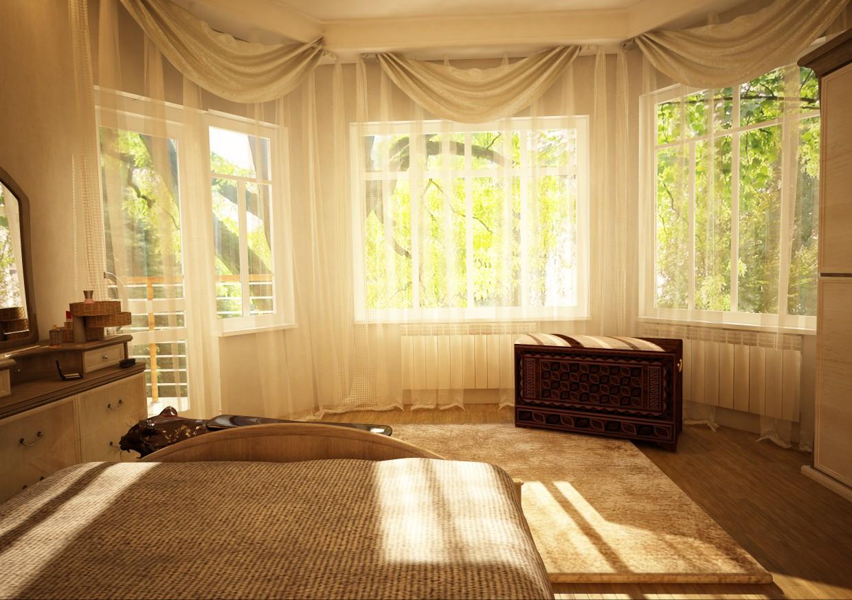 Дом в Тбилиси. Архитектор Серго Шелестов в Cinema 4d vray изображение