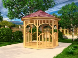 Gazebo rond simple
