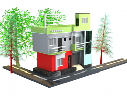 INDIANO STILE STREET HOME DESING