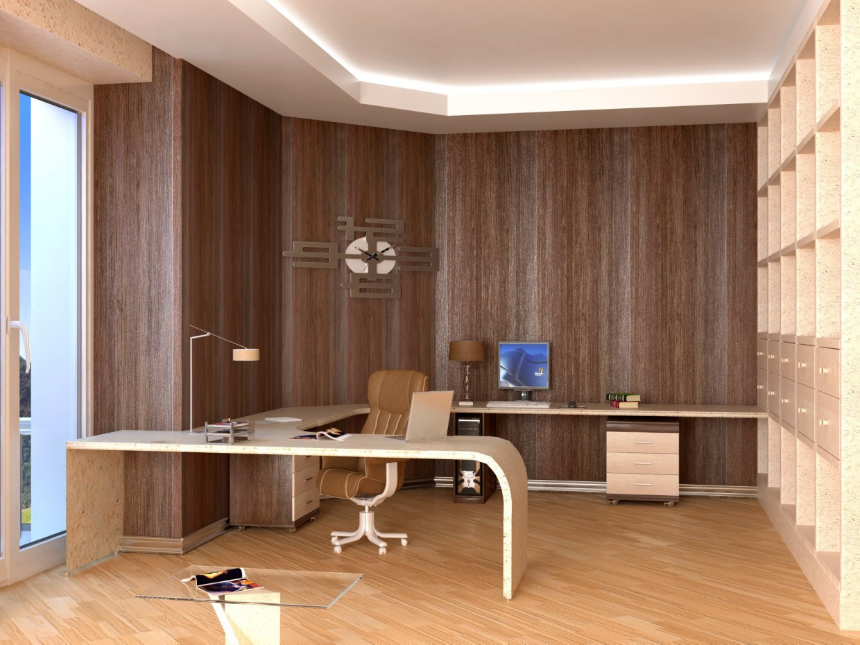 Parlor in 3d max vray image
