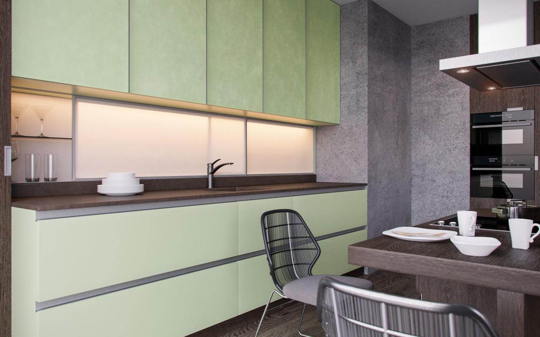 ELNOVA kitchens 2015 in 3d max corona render image