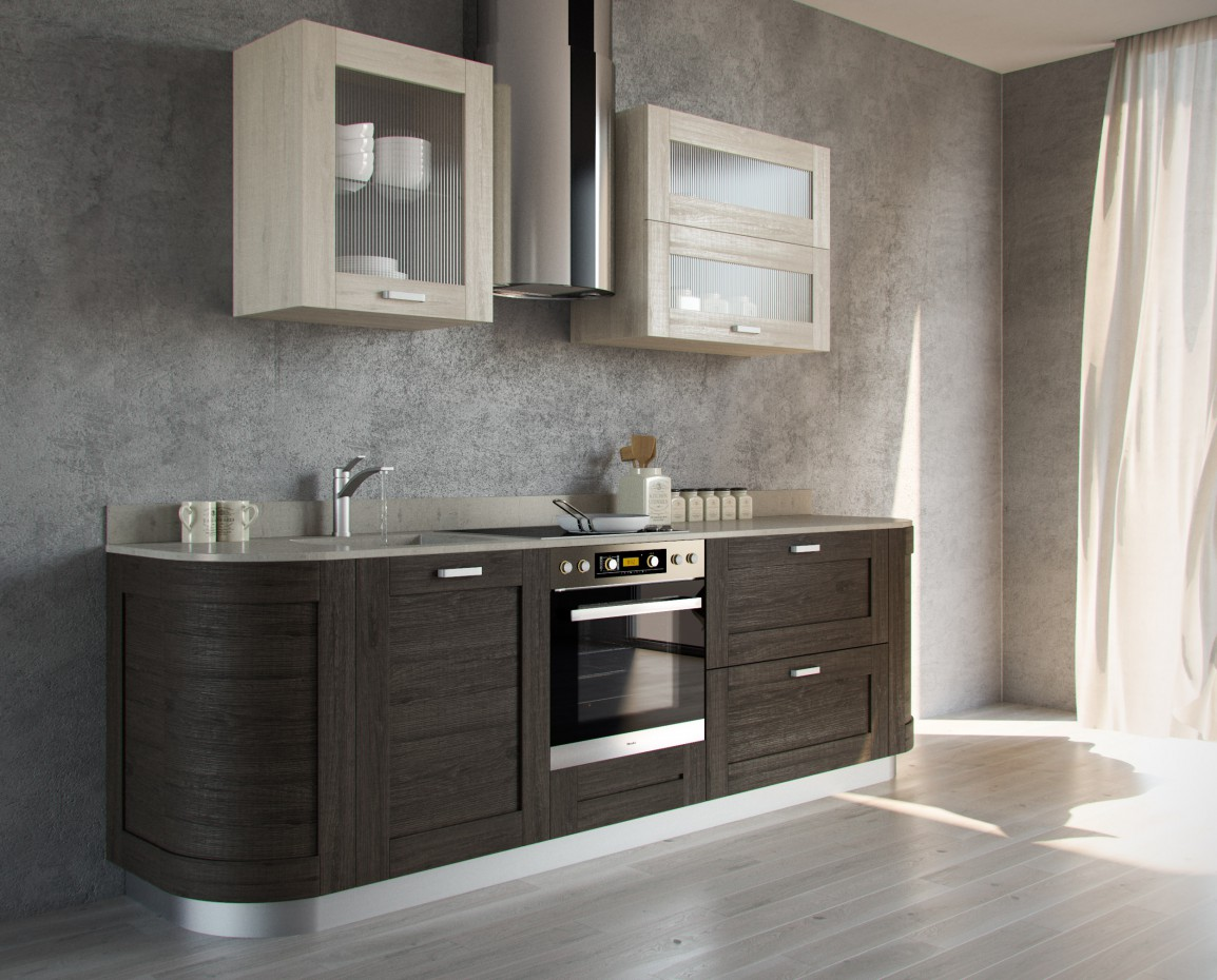 ELNOVA kitchens 2015 in 3d max corona render image