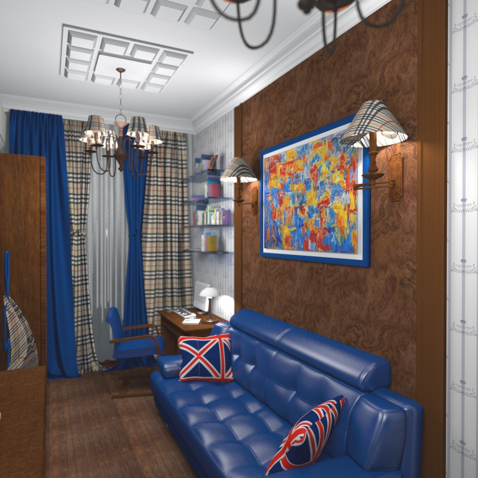 Teenager room 2 in 3d max Other image
