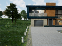 Visualisation architecturale avec UE 4 - Summer House