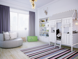Large children's room