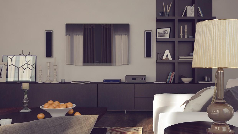 Livingroom в 3d max vray зображення