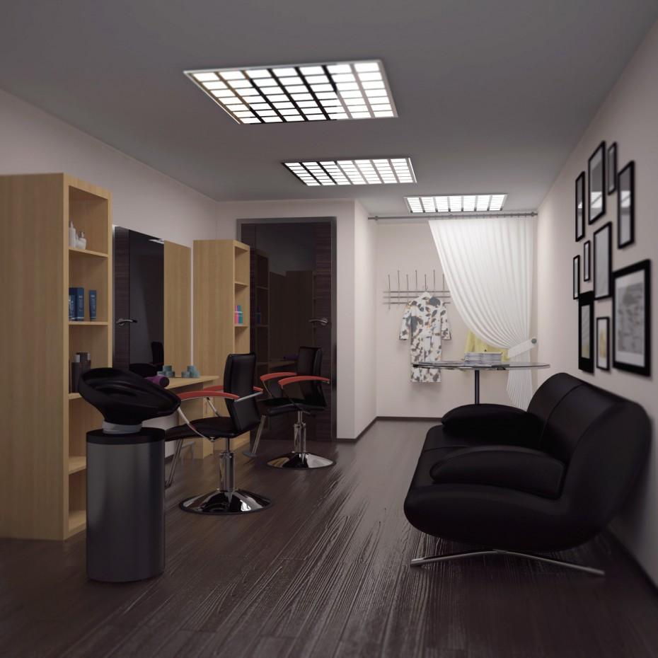 imagen de Pequeña peluquería en 3d max vray