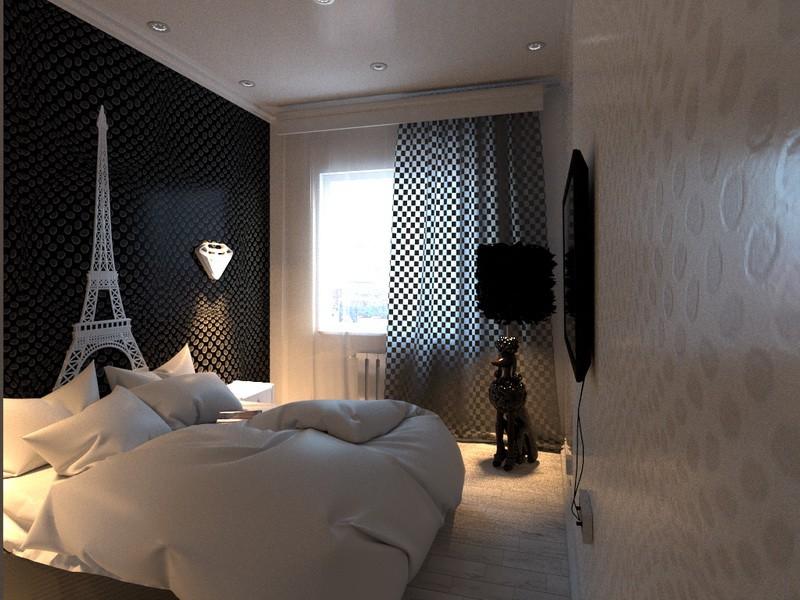 Квартира з оптичними ілюзіями і ... торшером-собакою. в Cinema 4d corona render зображення