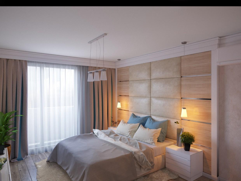 imagen de Dormitorio en 3d max corona render