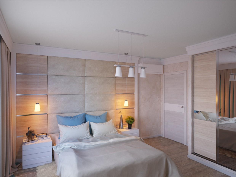 Спальня в 3d max corona render изображение