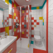Bright bathroom.
