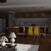 3d visualization of the project in the Modern Kitchen Cinema 4d, render vray 2.0 of igorexa_918