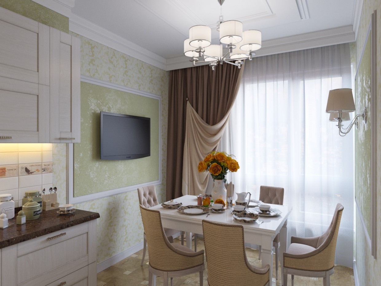 imagen de Cocina en 3d max corona render