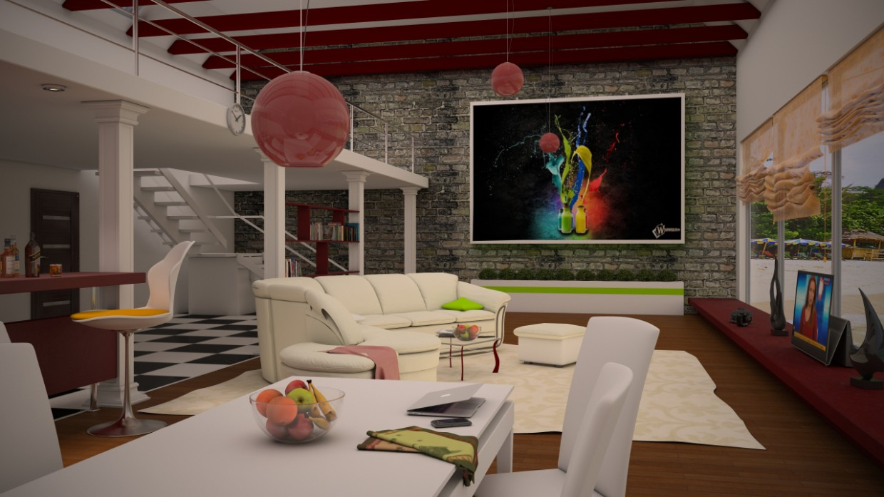 OTHERS in 3d max vray 2.0 image