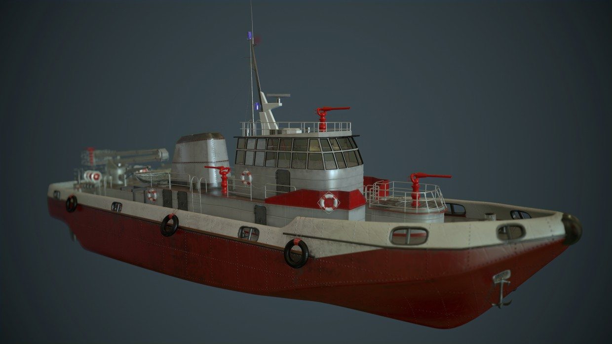 3d visualization of the project in the Fire ship 3d max, render Other of Kronnus