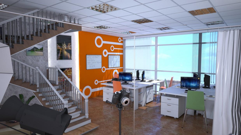 Дизайн студія в 3d max vray 2.0 зображення