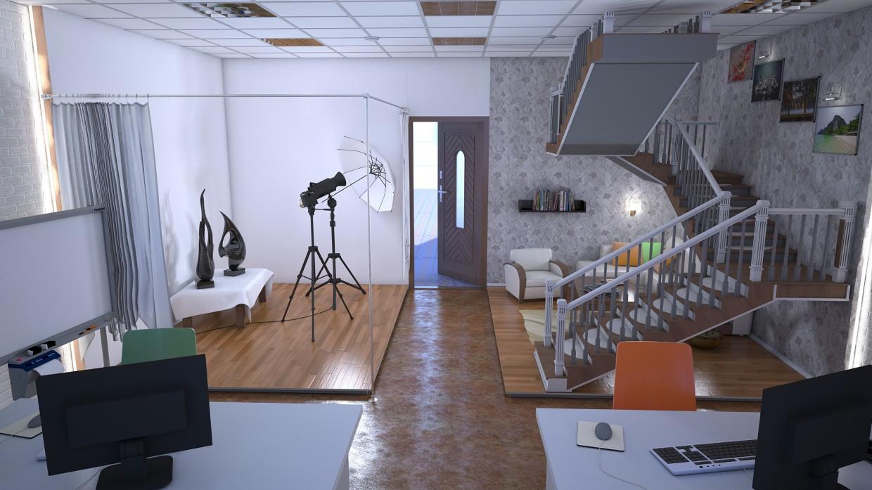 imagen de Estudio de diseño en 3d max vray 2.0