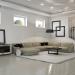 Living room in white in 3d max vray 2.0 image