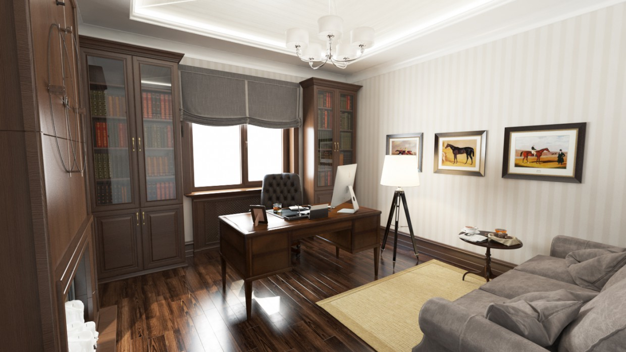 Cabinet in 3d max vray image