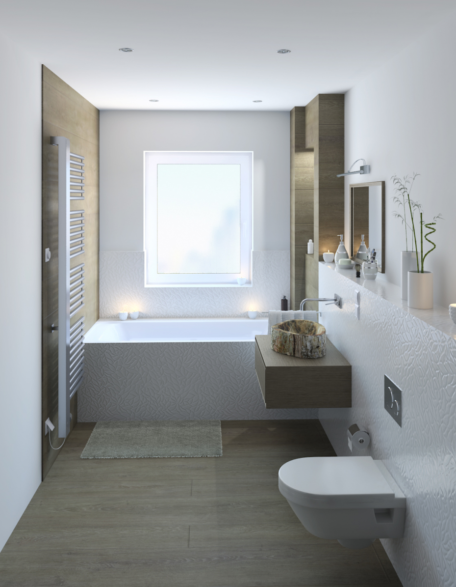 bathroom in 3d max vray 3.0 image